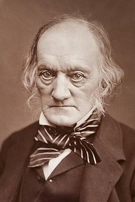 1878 Sir Richard Owen Photograph Portrait Poster by Paul D Stewart