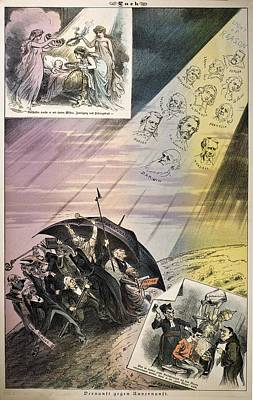 1882 Darwin Et Al Reason Against Unreason Poster by Paul D Stewart