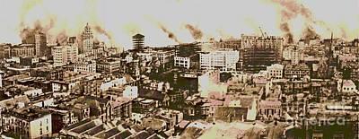 1906 San Francisco Earthquake Poster