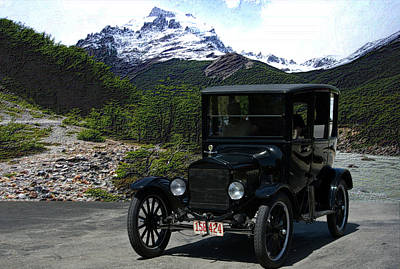 1921 Ford Model T Poster by Tim McCullough