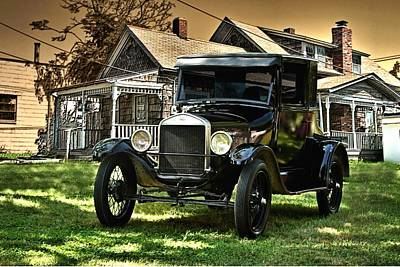 1926 Ford Model T Poster by Tim McCullough