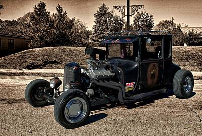 1927 Ford High Top T Rat Rod Poster by Tim McCullough