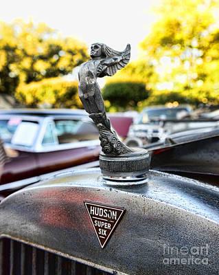 1928 Hudson Super Six Roadster Hood Ornament Poster