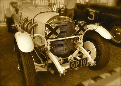 1930 Mercedes Benz 710 Ss Rennsport Poster by John Colley