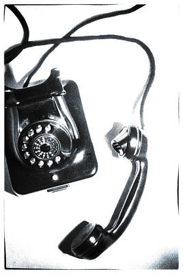 1930s Telephone Poster by David Ridley