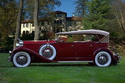 1932 Packard 903 Deluxe Eight Sport Phaeton Poster by Tim McCullough