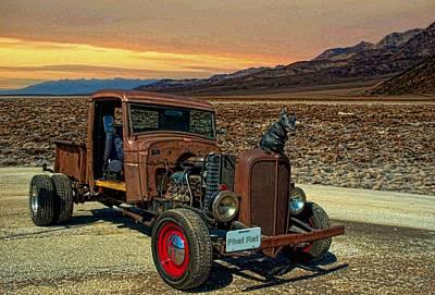 1934 Chevrolet Rat Rod Pickup Poster