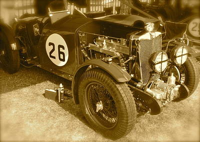 Poster featuring the photograph 1934 Mg N-type by John Colley