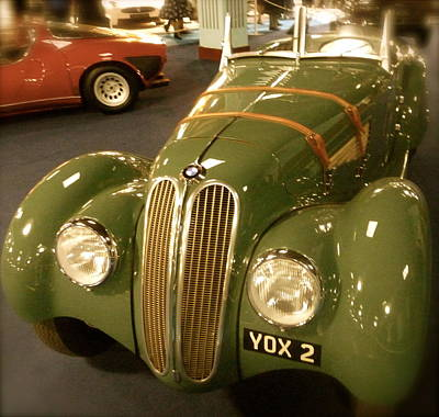 Poster featuring the photograph 1937 Bmw 328 by John Colley