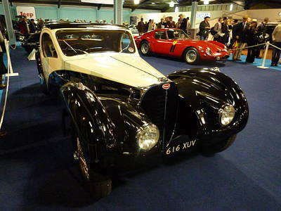 1937 Bugatti Type S7sc Altalante Poster by John Colley