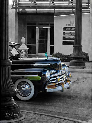 1940s Ford Out Of The Past Poster by Robin Lewis