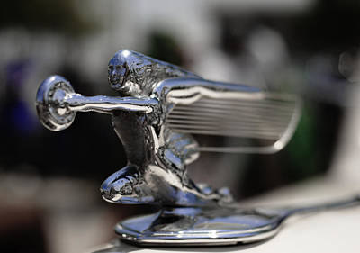 1940's Packard Hood Ornament Poster