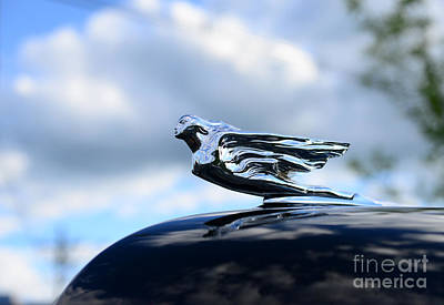 1941 Cadillac Hood Ornament - The Goddess Poster by Paul Ward