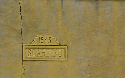 1945 Scardino Poster
