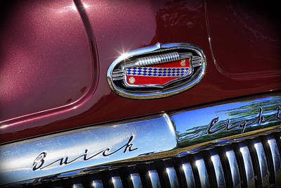 Poster featuring the photograph 1951 Buick Eight by Gordon Dean II