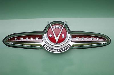 1953 Buick Emblem Poster by Jill Reger
