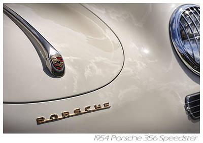 1954 Porsche 356 Speedster Poster by Gordon Dean II