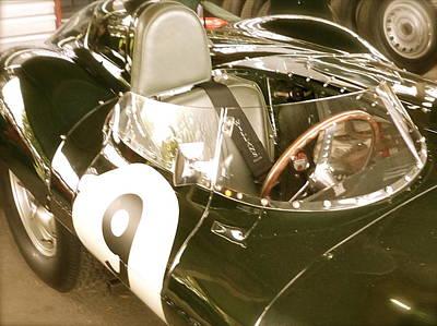 1955 Jaguar D Type Poster by John Colley