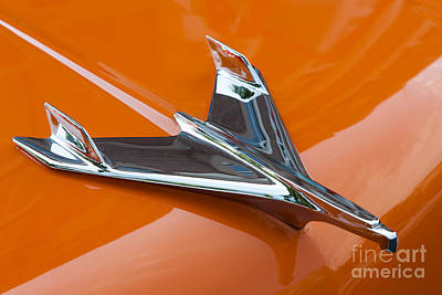 1956 Chevy Bel Air Hood Ornament I Poster
