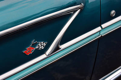 Poster featuring the photograph 1958 Chevrolet Bel Air by Gordon Dean II