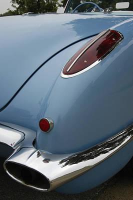 1958 Corvette Poster