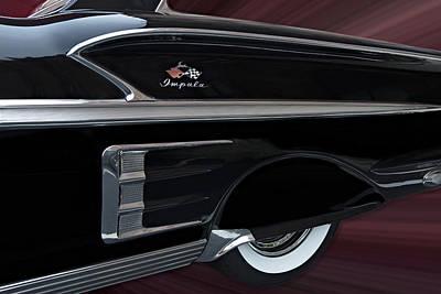 1958 Impala Poster by Susan Candelario