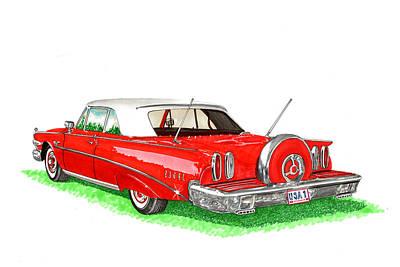 1960 Edsel Ranger Continental Kit Poster by Jack Pumphrey