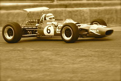 Poster featuring the photograph 1960s Matra F1 by John Colley