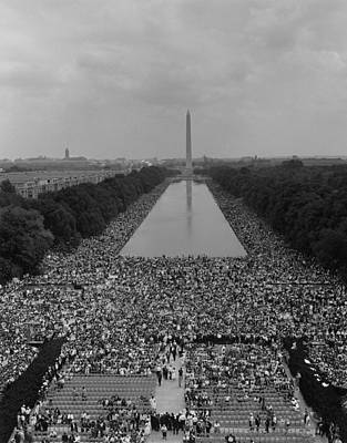 1963 March On Washington. A View Poster by Everett