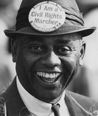 1963 March On Washington. Smiling Poster by Everett