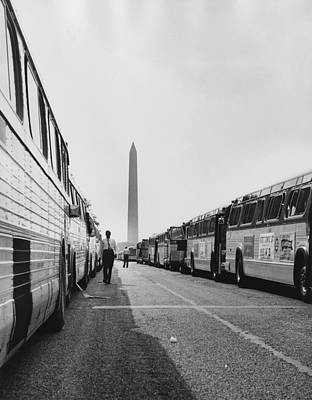 1963 March On Washington. Two Long Poster by Everett