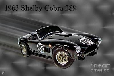 1963 Shelby Cobra 289 Poster by Tommy Anderson