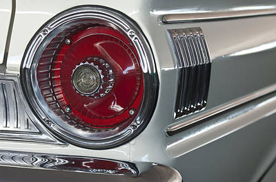 1964 Ford Falcon Sprint Convertible Taillight Poster by Jill Reger