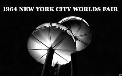 1964 Worlds Fair Poster Poster