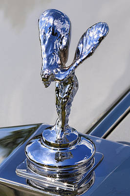 Poster featuring the photograph 1965 Rolls Royce Silver Cloud IIi Mpw Coupe by Gordon Dean II