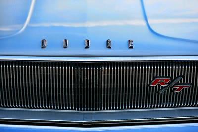 1966 Dodge Coronet Rt Poster by Gordon Dean II
