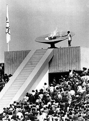 1968 Olympics, Enriqueta Basilio Poster by Everett