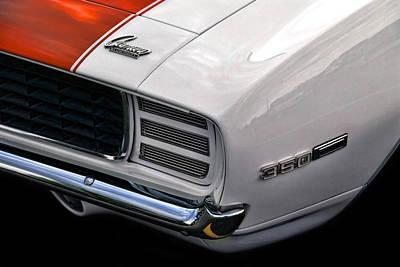 1969 Chevrolet Camaro Indianapolis 500 Pace Car Poster