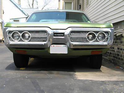 1970s Plymouth Fury Poster