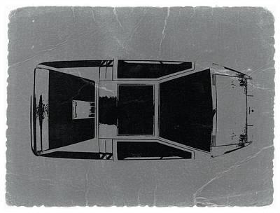 1972 Maserati Boomerang Poster by Naxart Studio