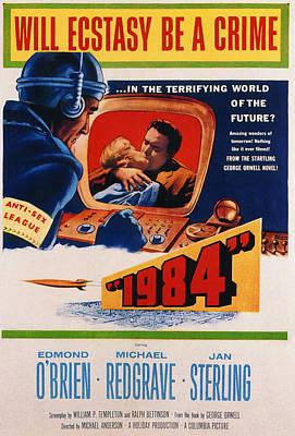 1984, Jan Sterling, Edmond Obrien, 1956 Poster by Everett