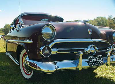 1952 Ford Customline Poster by Mark Dodd