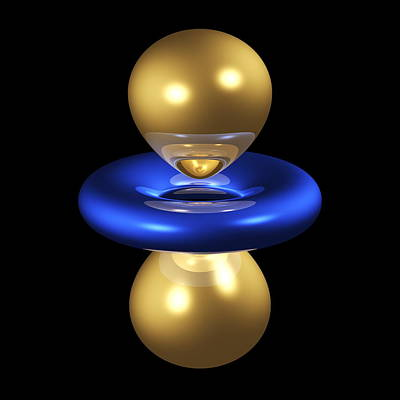 3dz2 Electron Orbital Poster