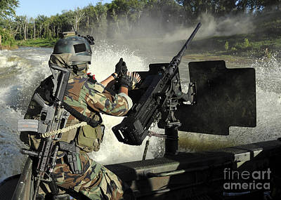 A Special Warfare Combatant-craft Poster by Stocktrek Images