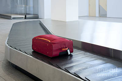 Airport Baggage Claim Poster by Jaak Nilson