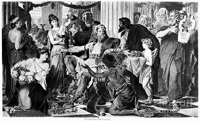 Alaric I (370?-410) Poster by Granger