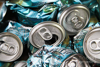 Aluminum Cans For Recycling Poster