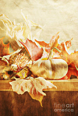 Autumn Poster by HD Connelly