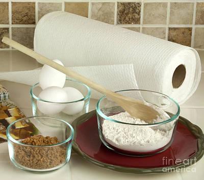 Baking Ingredients Poster
