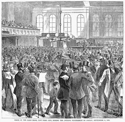 Bank Panic, 1869 Poster by Granger